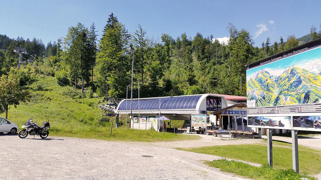 1125 - D - Talstation Stümpfing-Bergbahn Spitzingsee © Pässe.Info