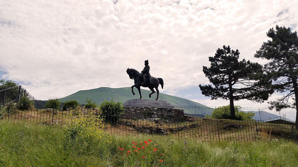 La Prairie de la Rencontre - Route Napoleon (frz. Route Napoléon) © Pässe.Info