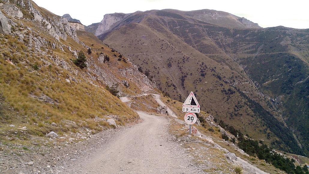 Col de Tende (Colle di Tenda) © Pässe.Info
