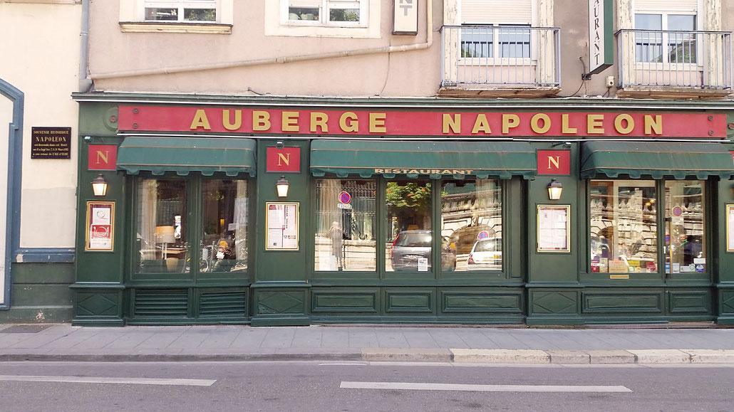 Auberge Napoléon Grenoble - Ende der Route Napoleon (frz. Route Napoléon) © Pässe.Info
