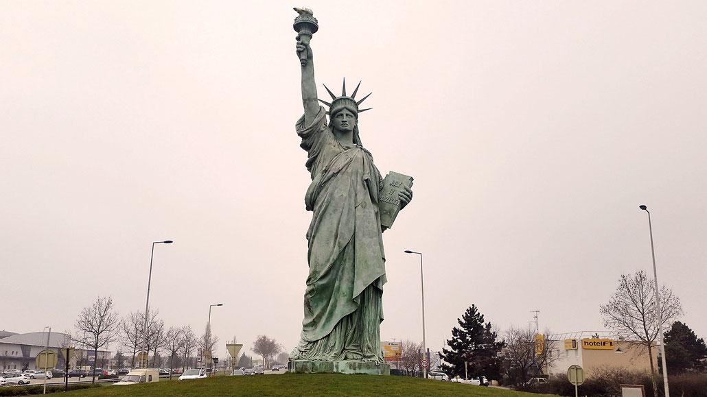 Statue de la Liberté (Freiheitsstatue) Colmar © Pässe.Info