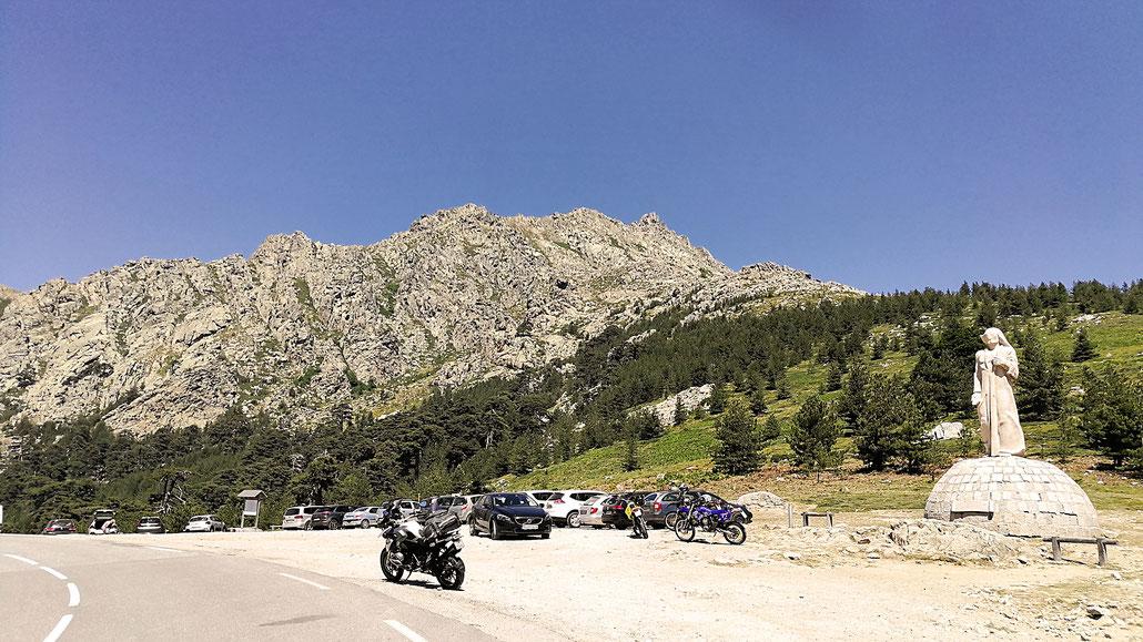 1467 - F (Corse) - Col de Vergio (Bocca di Verghju) © Pässe.Info