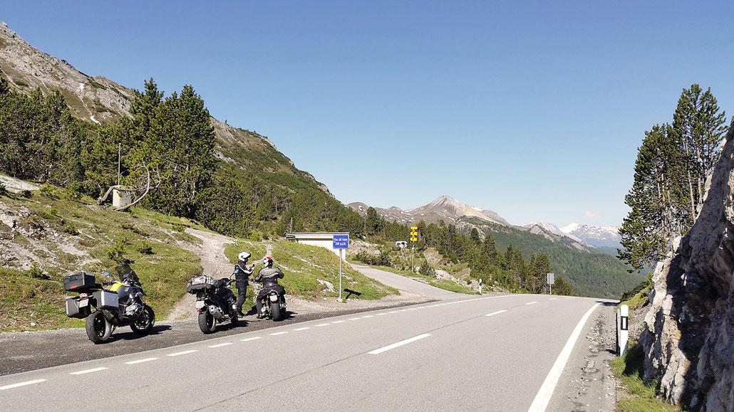 2149 - CH - Ofenpass (Pass dal Fuorn) © Pässe.Info