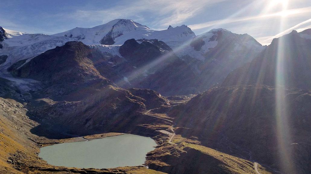 Steingletscher unterhab Sustenpass © Pässe.Info