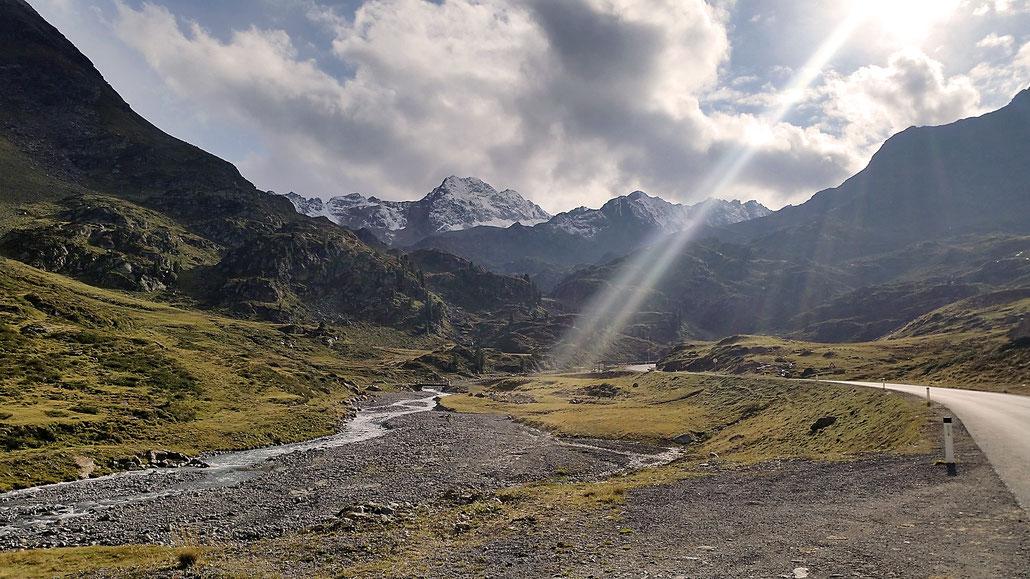 Kaunertaler Gletscherstrasse © Pässe.Info