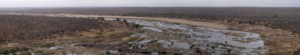 Panoramablick vom Olifants Camp
