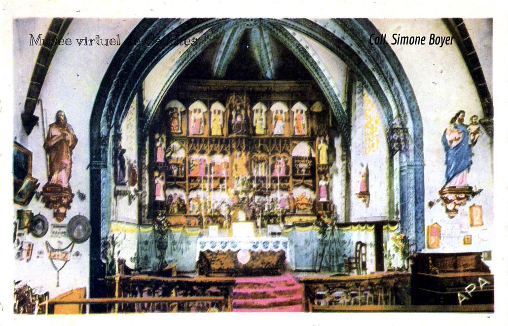 Carte postale ancienne colorisée