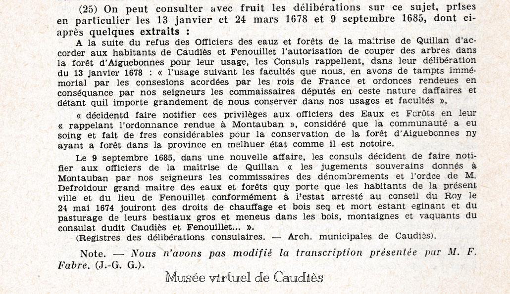 Note bibliographique (25)  p 168