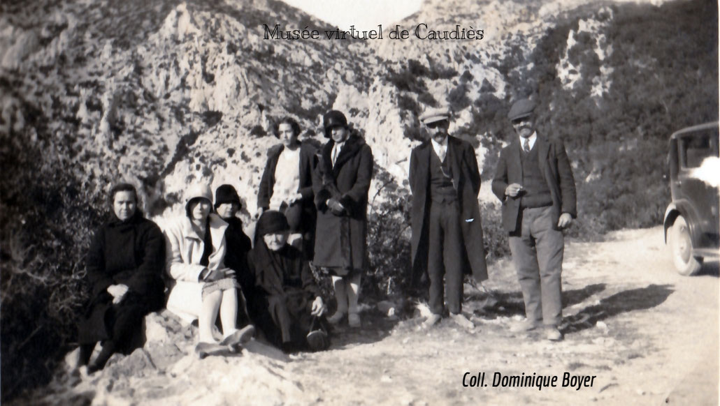 Excursion au col de Saint-Louis vers 1925