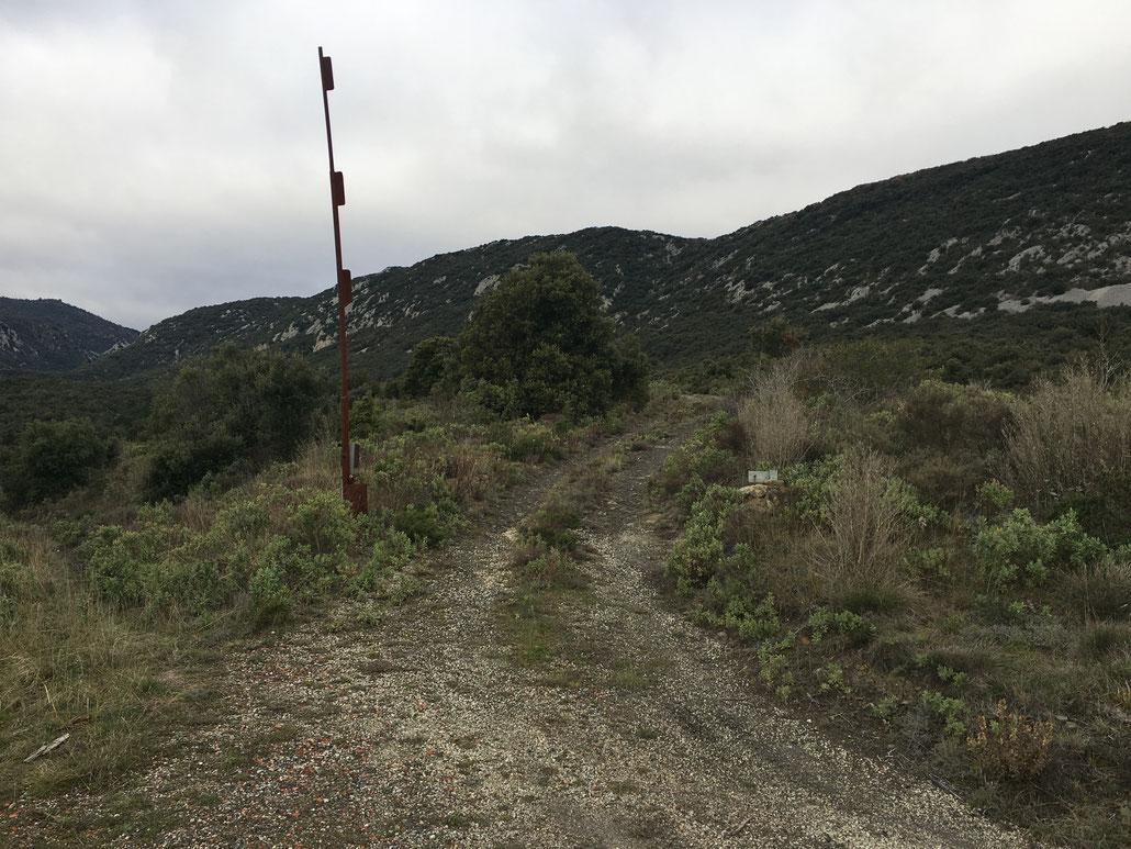 """L'ancien chemin du """"Baus"""" (Photo Dominique Boyer Décembre 2019)"""