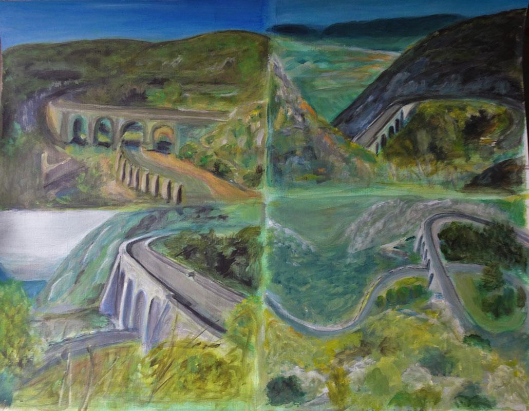 Peinture Andrée Tricoire