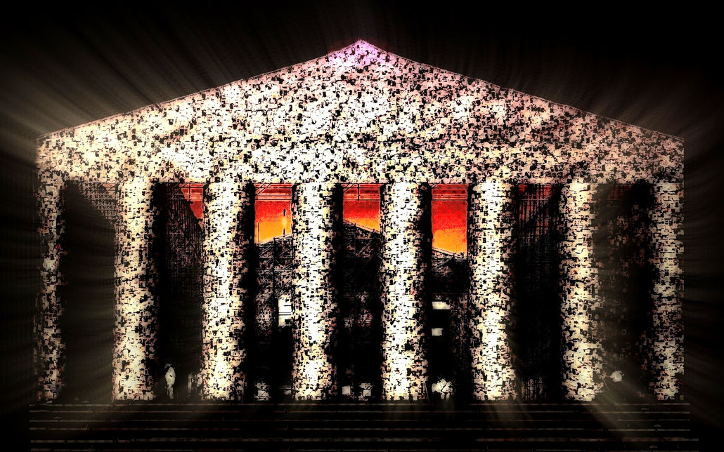 Das Parthenon der verbotenen Bücher (Documenta XIV)