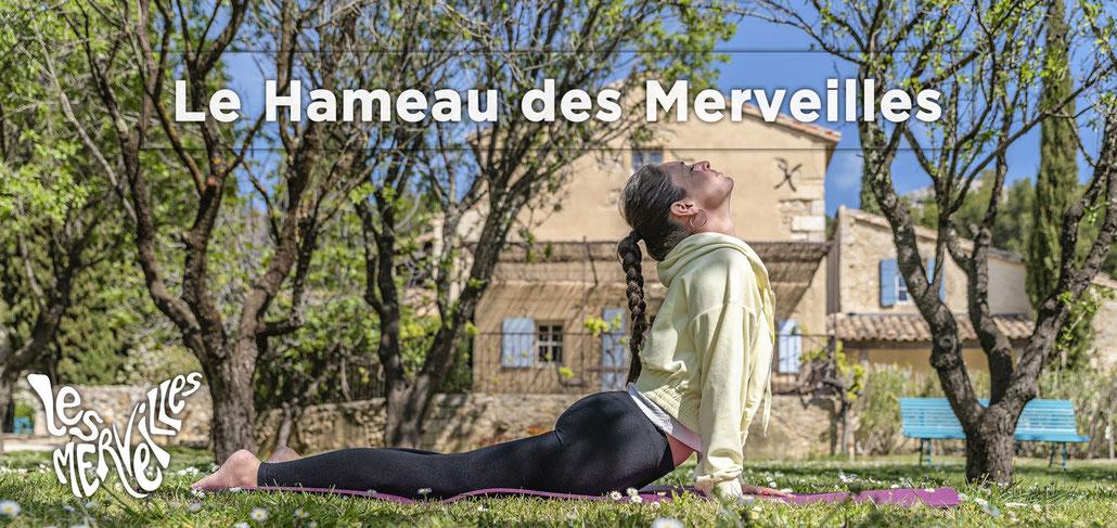 Retraites yoga holistiques au cœur du Parc Naturel Régional des Alpilles en Provence