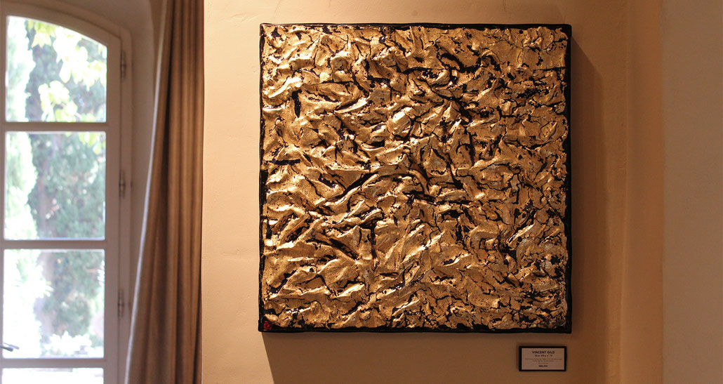 Vincent Gild en exposition-vente au Hameau des Baux
