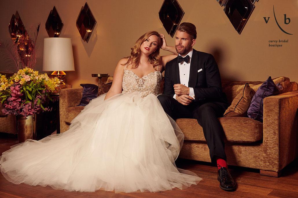 Fotografin für Brautmoden und Abendmode - für Vollkommen Braut im Nikkei Nine, Hamburg