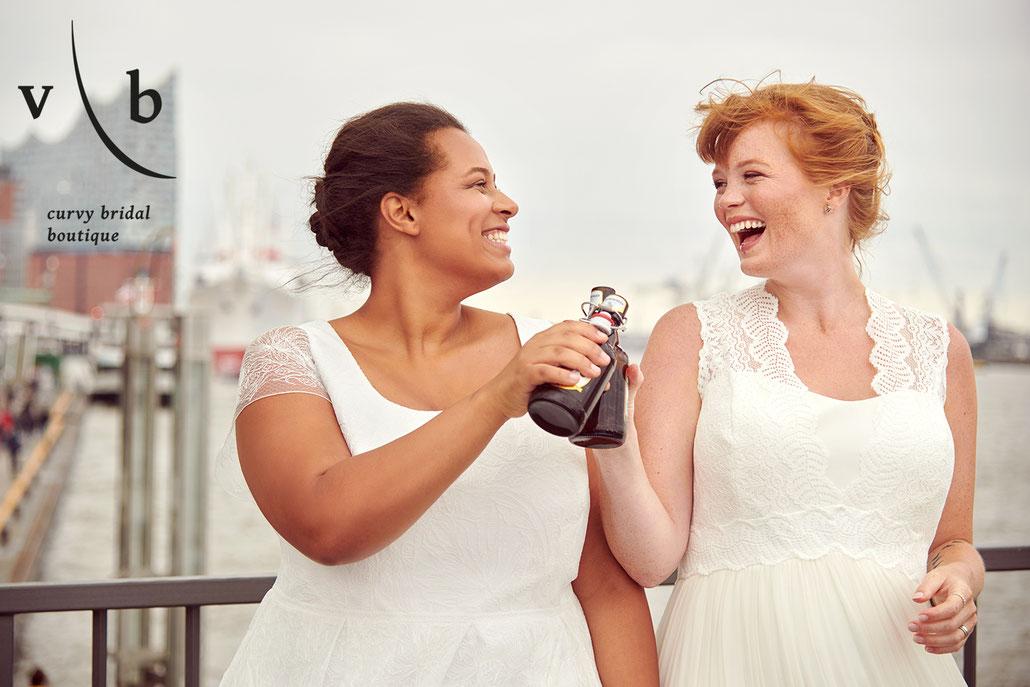 Vollkommen Braut - Brautmoden in Übergrößen in Hamburg - Fotografin für Curvy Models Yvonne Sophie Thöne