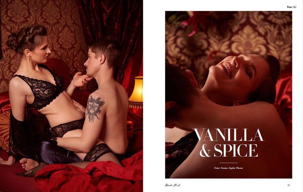 Sinnliche Paarfotos für Séparée-Magazin