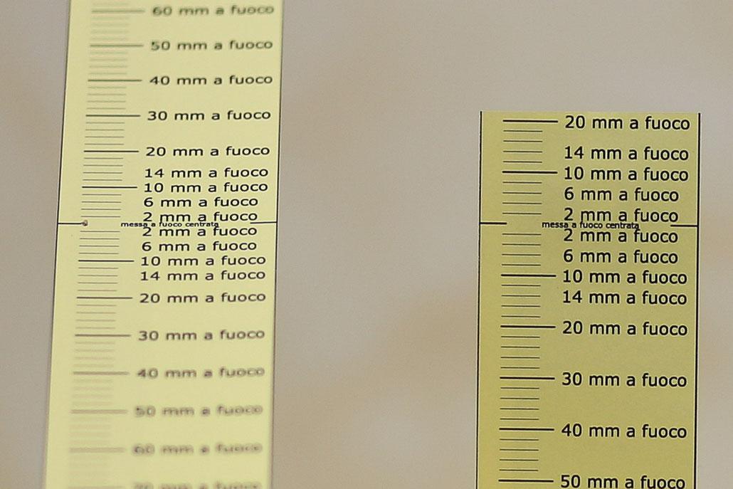 Fig. 2 - 85mm @F1.8 con impostazione iniziale sullo zero.