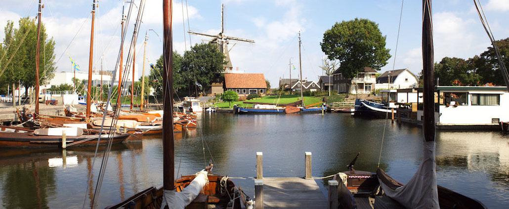 De Vissershaven in Harderwijk, de 'thuishaven' van SPECIAL FEELING Zeilvakanties.
