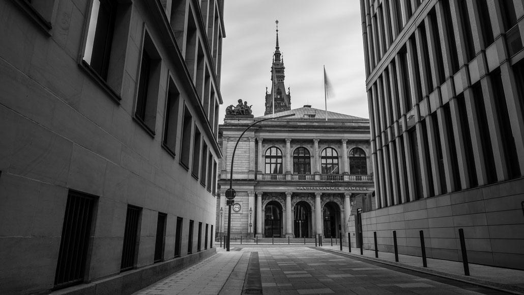 Neue Börse am Adolphsplatz in Hamburg