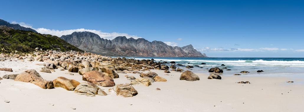 Kogel Bay Beach towards Too-Els, South Africa
