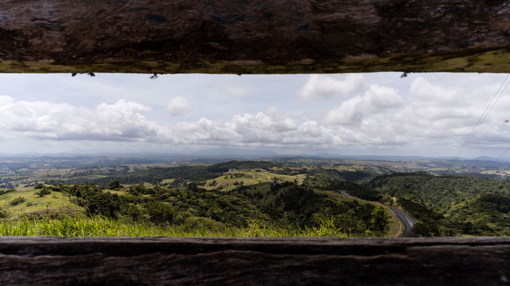 Lookout at Atherton Tablelands, Australia