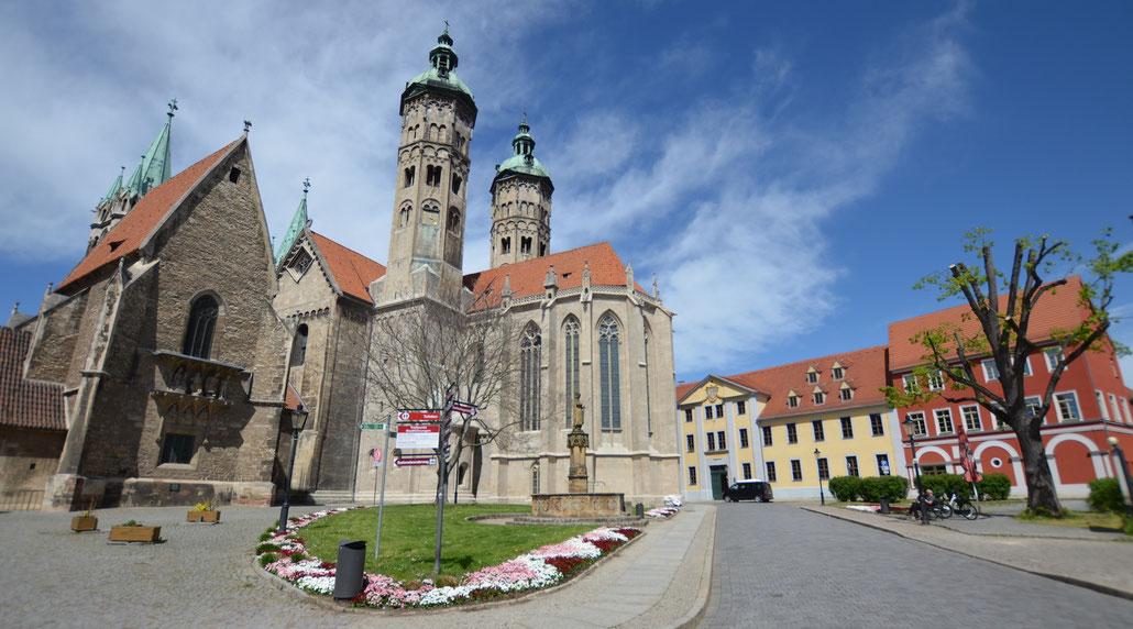 Naumburg, Dom und Domplatz