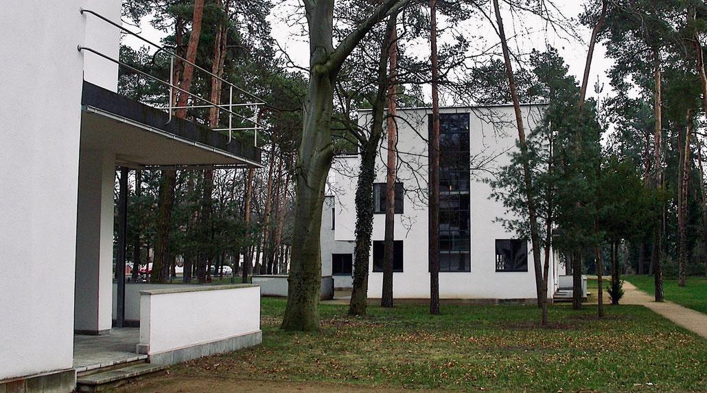 DIe Meisterhäuser in Dessau