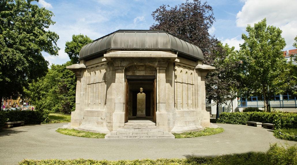 Ernst-Abbe-Denkmal in Jena