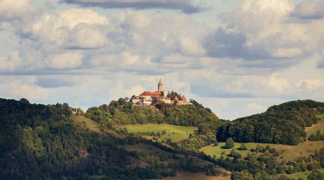 Die Leuchtenburg bei Jena
