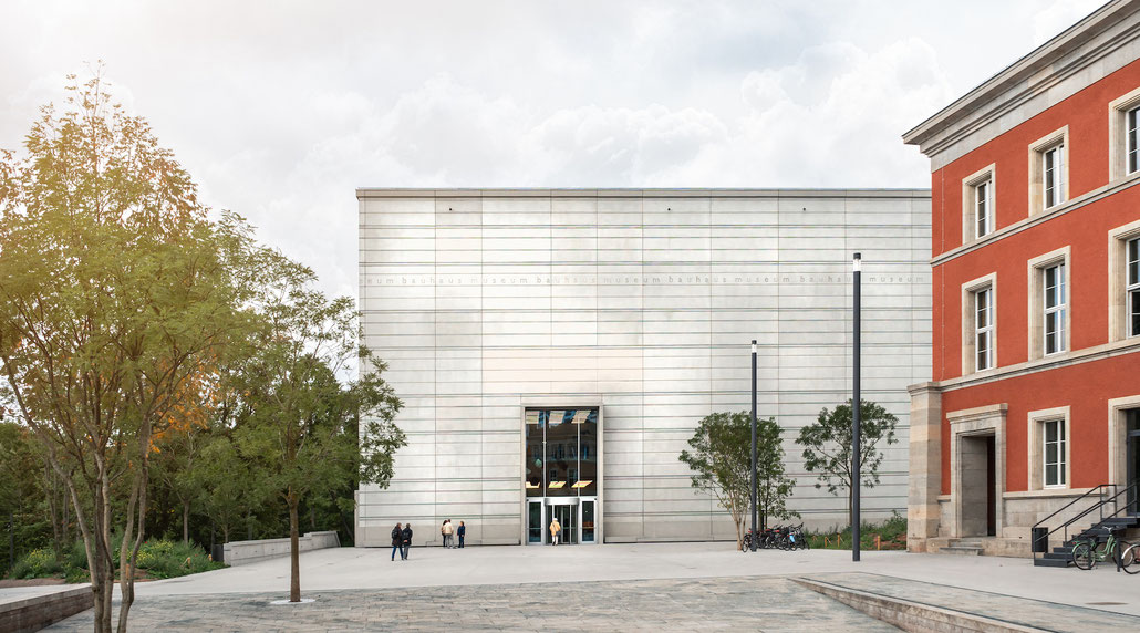 Neues Bauhaus-Museum in Weimar