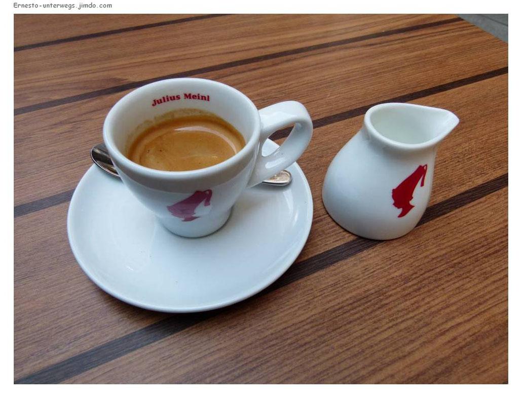 Meinl, Kaffee, Espresso, Wien, Ernesto, Reiserabe, unterwegs, Reise, reisen, Ausflug, Vienna, Österreich, Austria