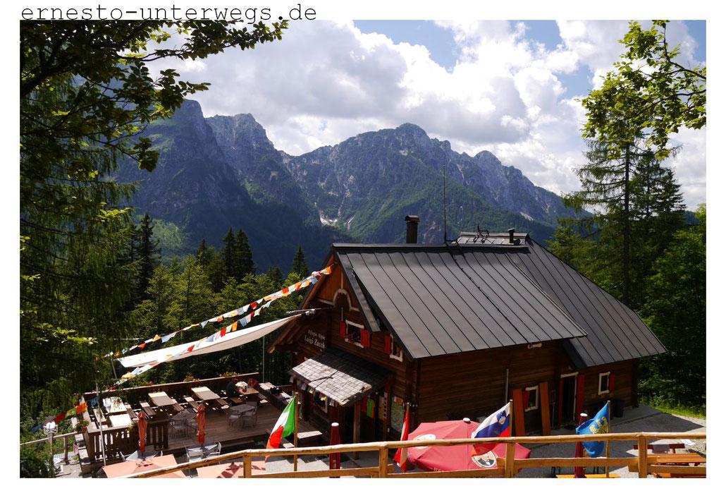 Tolle Hütte, aber kein Mensch zu Gast (Zacchi-Hütte)