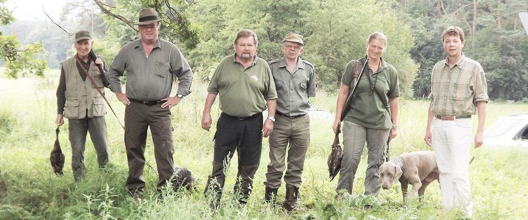 Mitgliedschaft / Mitglied werden beim Jagdschutzverein Hubertus Neumarkt e. V.