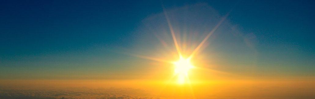 Himmel, Licht, Sonnenstrahlen