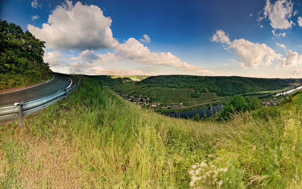 Panoramaansicht Valwigerberg