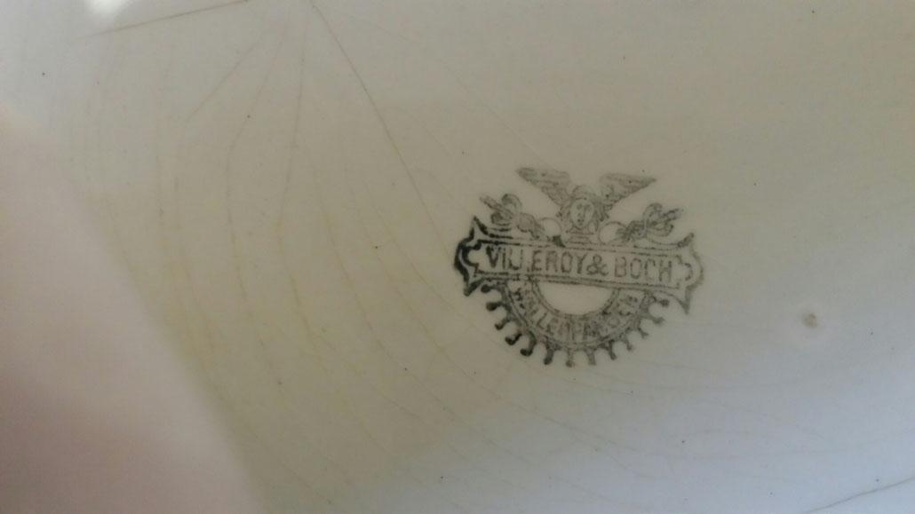 Bettpfanne  Villeroy & Boch Porzellan