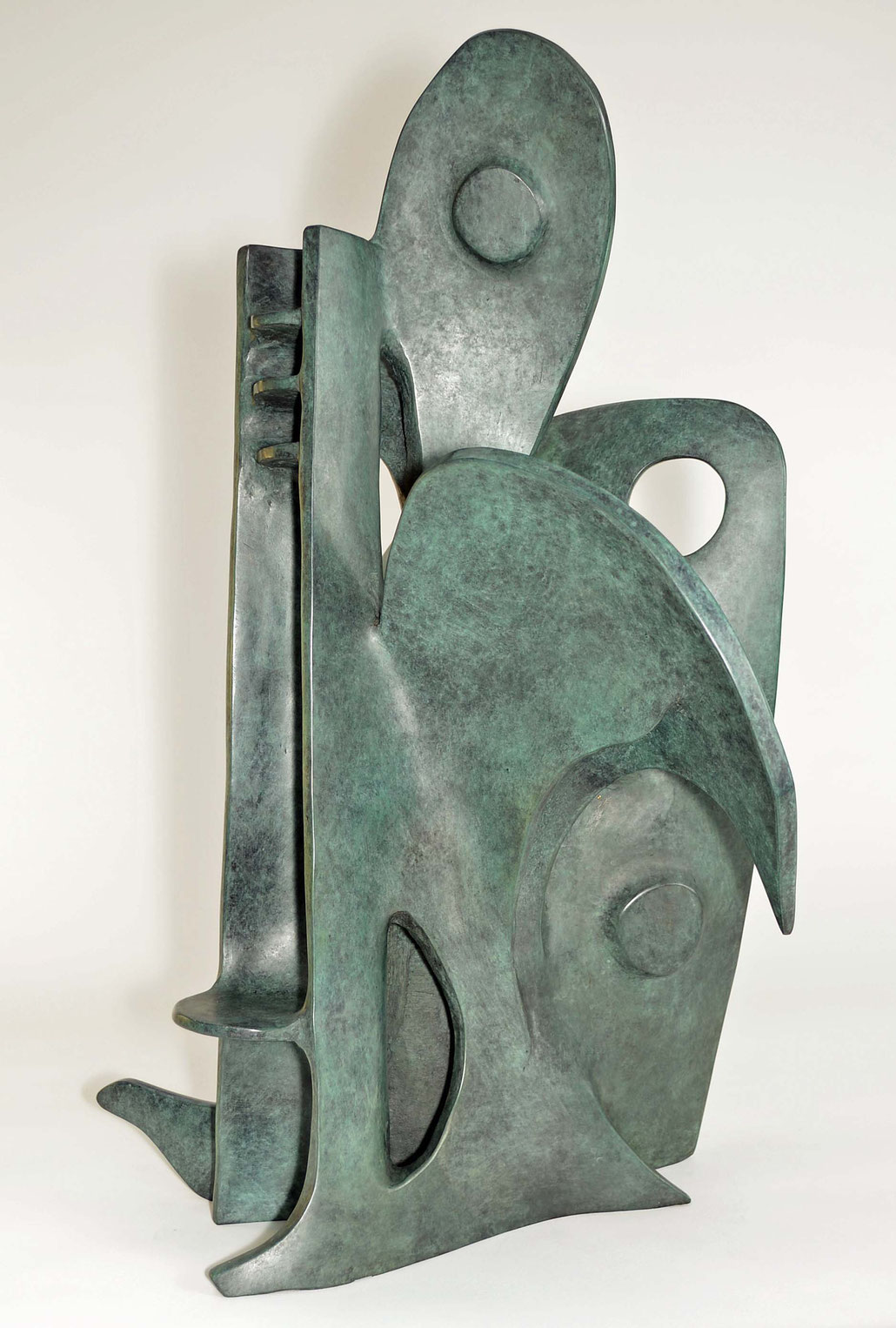 Robert Bowman Gallery as well as Abby Hignell showed bronzes made by Nicole Farhi in London.
