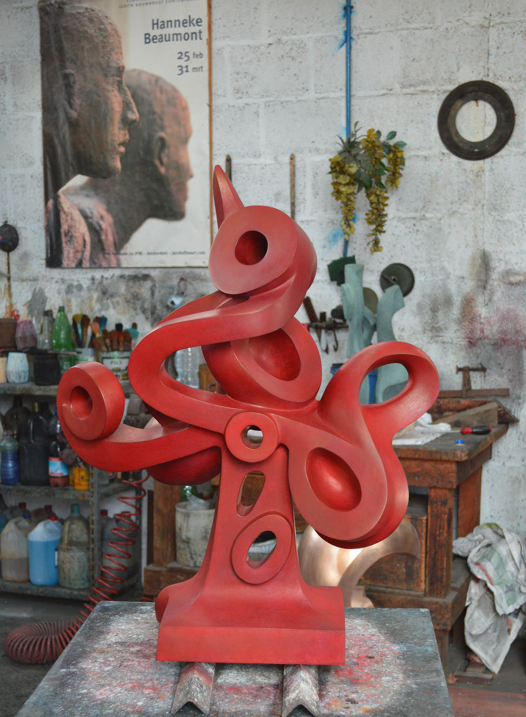 Helaine Blumenfeld OBE was the mentor of HEX during his bronze residency at Mariani.
