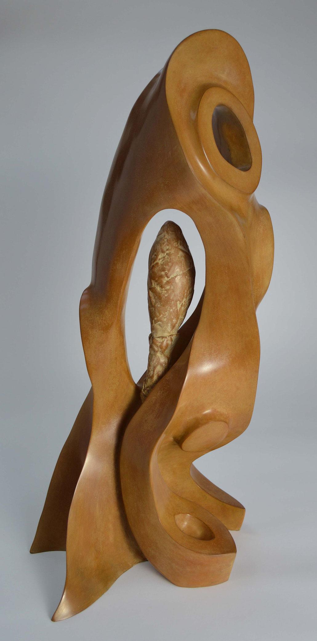 Jenna Romagnolo, Irina Starkova, Laura Walford, Adrian Locke. MASTERPIECE art fair London. Contemporary sculpture by HEX.