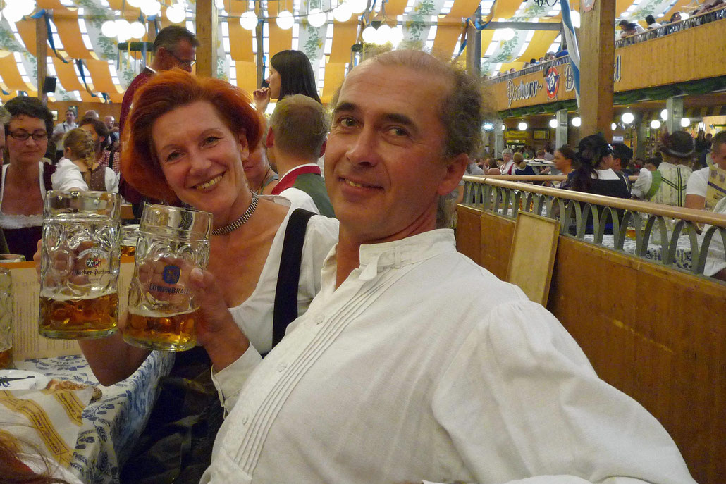 Irina Lüft and HEX at the Octoberfest