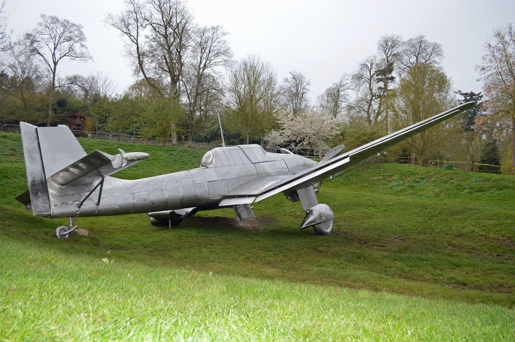 HEX created this memorial for the Battle of Britain at Burghley House. Miranda Rock Cecil is director of the BHPT. Her husband Orlando is chairman of Christie`s UK.