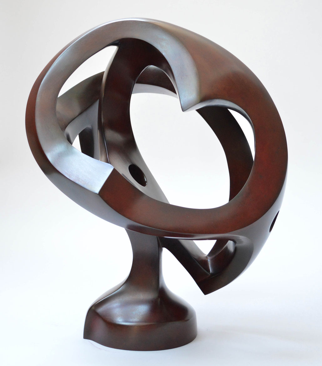 Dr. Charles Saumarez Smith is a specialist for abstract modern bronzes.