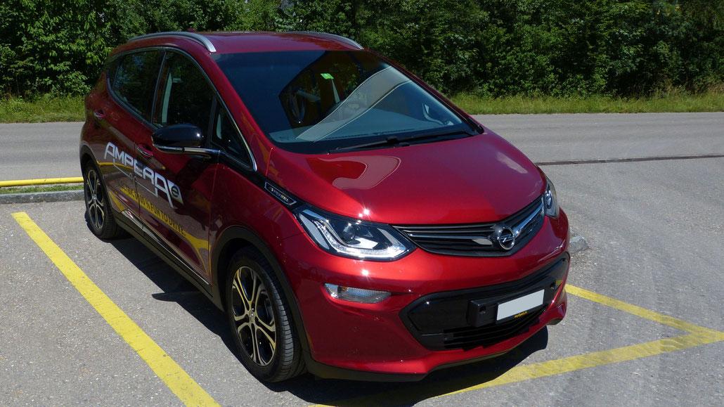 Fahrbericht Opel Ampera-e Lieferzeit Schweiz