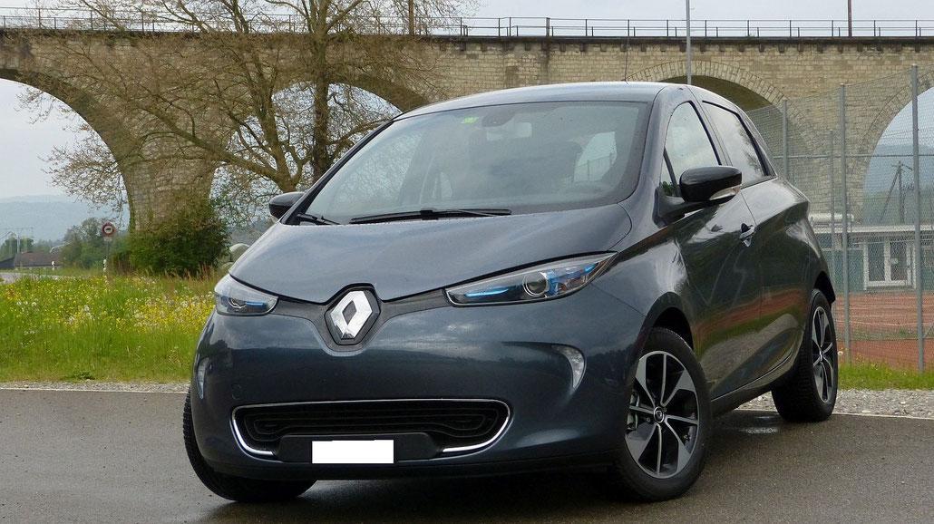 Renault Zoe Z.E. 40 2017 Frontansicht