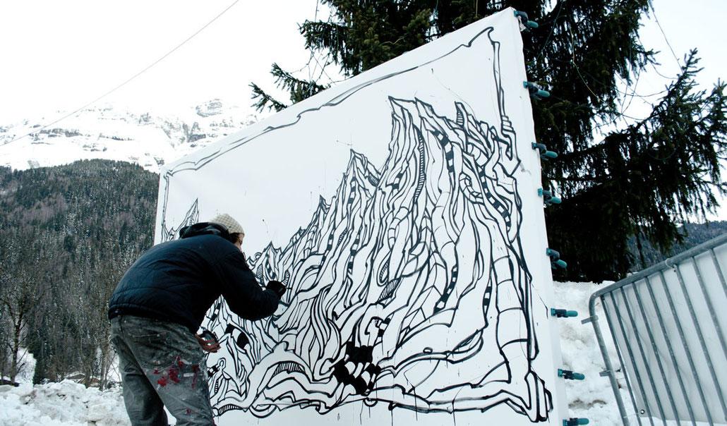 Matt.B @ Natur'Art Festival - Les Contamines