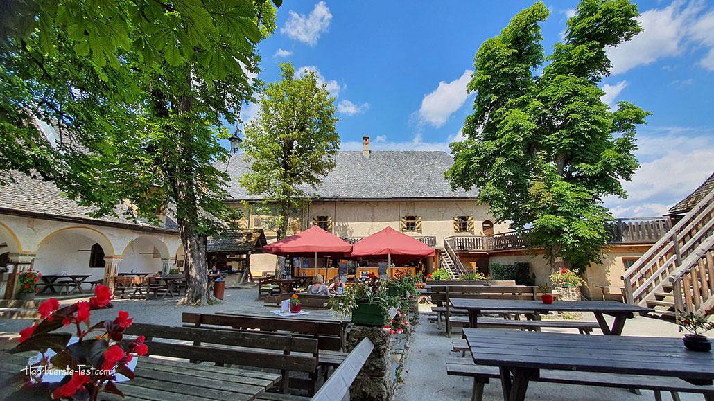 Burg hochosterwitz restaurant