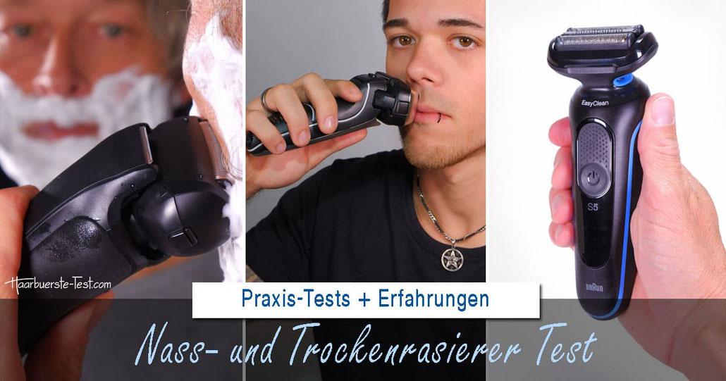 nass- und trocken-rasierer test, nass-trocken-rasierer test