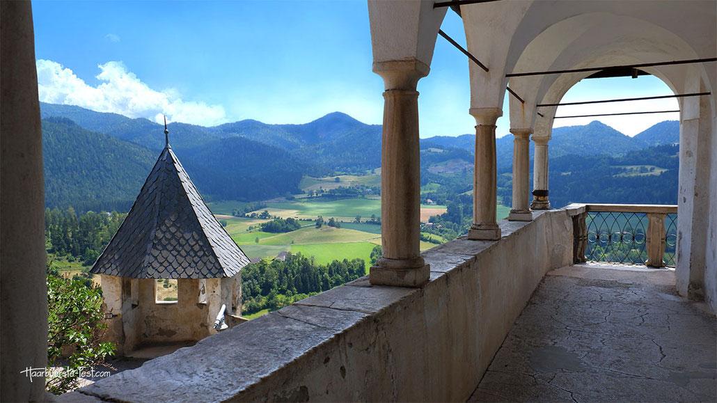 Burg Hochosterwitz ausblick