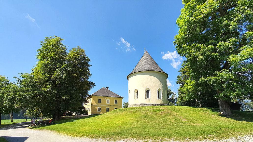 tauernkirche, ossiacher tauern, meierei, gut ossiacher tauern